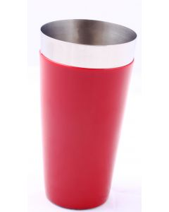 BOSTON SHAKER VINYL COATED TUMBLER RED 750 ML